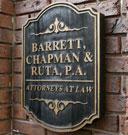 Barrett Chapman and Ruta Plaque
